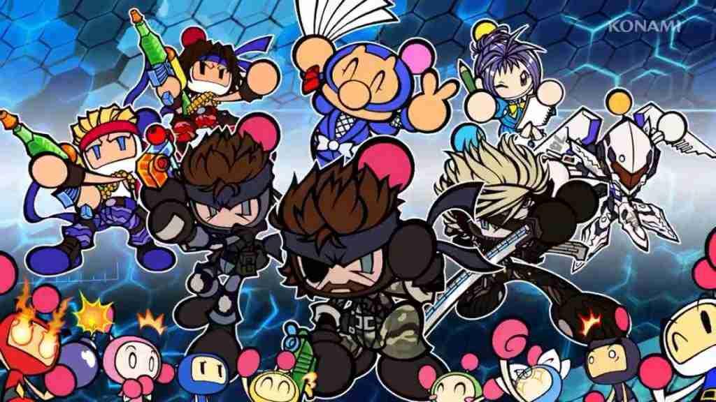 Los protagonistas de Bomberman R