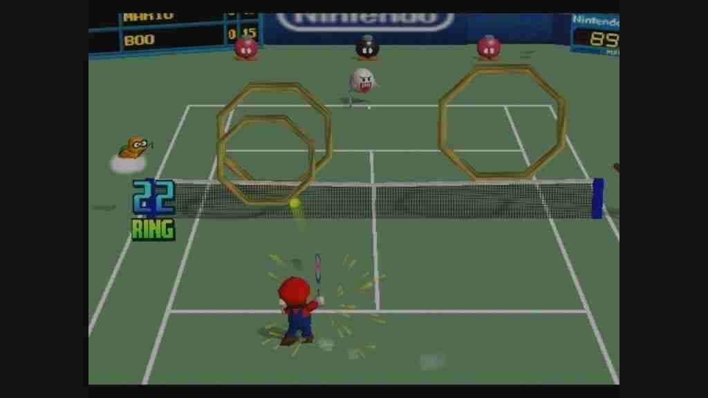 Pistas y juegos de Mario Tennis